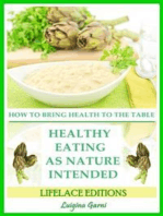 Healthy Eating As Nature Intended