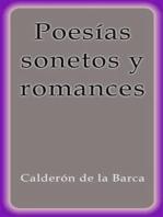 Poesías sonetos y romances