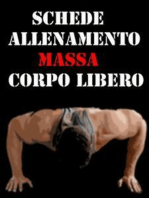 Schede Allenamento Massa a Corpo libero