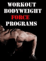 Workout Bodyweight Force Programs