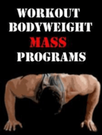 Workout Bodyweight Mass Programs