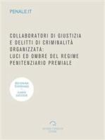 Collaboratori di giustizia e delitti di criminalità organizzata
