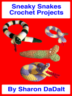Sneaky Snakes Crochet Projects