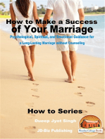 How to Make a Success of Your Marriage