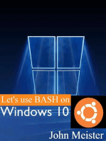 Let's Use BASH on Windows 10!