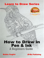 How to Draw in Pen & Ink: A Beginners Guide