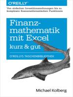 Finanzmathematik mit Excel kurz & gut