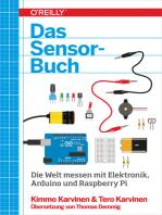 Das Sensor-Buch: Mit Elektronik, Arduino und Raspberry Pi die Welt erfassen