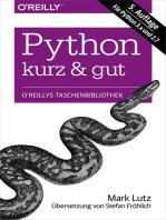 Python kurz & gut: Für Python 3.x und 2.7