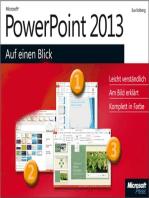 Microsoft PowerPoint 2013 auf einen Blick