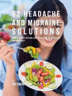 52 Headache and Migraine Solutions