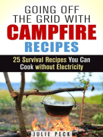 Going Off the Grid with Campfire Recipes