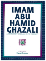 Imam Abu Hamid Ghazali: An Exponent of Islam in Its Totality