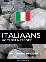 Italiaans vocabulaireboek