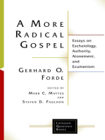 A More Radical Gospel