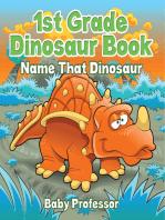 1st Grade Dinosaur Book