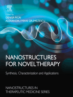 Nanostructures for Novel Therapy: Synthesis, Characterization and Applications