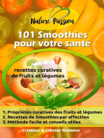 101 Smoothies pour votre santé