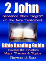 2 John - Sentence Block Diagram Method of the New Testament Holy Bible