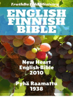 English Finnish Bible