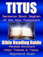 Titus - Sentence Block Diagram Method of the New Testament Holy Bible