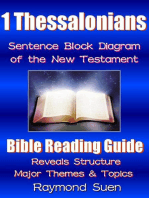 1 Thessalonians - Sentence Block Diagram Method of the New Testament Holy Bible