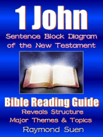 1 John - Sentence Block Diagram Method of the New Testament Holy Bible