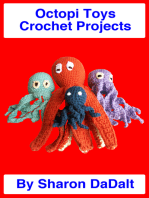 Octopi Toys Crochet Projects