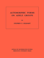Automorphic Forms on Adele Groups. (AM-83), Volume 83