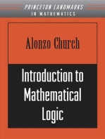 Introduction to Mathematical Logic (PMS-13), Volume 13