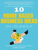 Home Based Business Ideas (10 In 1 Bundle)