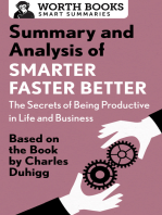 Summary and Analysis of Smarter Faster Better