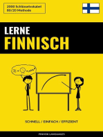Lerne Finnisch