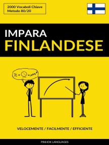 Impara il Finlandese: Velocemente / Facilmente / Efficiente: 2000 Vocaboli Chiave