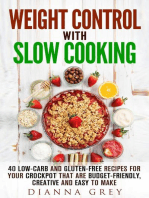 Weight Control with Slow Cooking