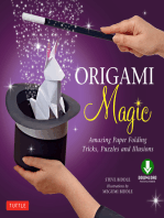 Origami Magic Ebook: Amazing Paper Folding Tricks, Puzzles and Illusions: Origami Book with 17 Projects and Downloadable Video Instructions