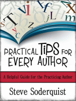 Practical Tips for Every Author