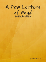 A Few Letters of Mind