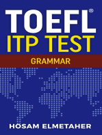 TOEFL ® ITP TEST: Grammar