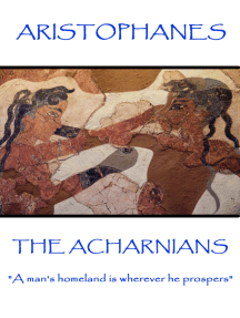 "The Acharnians: ""A man's homeland is wherever he prospers"""