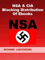NSA & CIA Blocking Distribution of Ebooks
