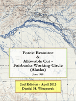 Forest Resource & Allowable Cut - Fairbanks Working Circle (Alaska)