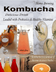 Home Brewing Kombucha: Delicious Drink Loaded with Probiotics & Healthy Vitamins Kombucha is a carnival of flavour in every bottle!