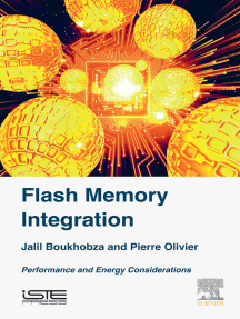 Flash Memory Integration: Performance and Energy Issues