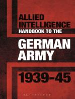 Allied Intelligence Handbook to the German Army 1939–45