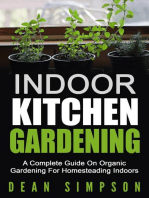 Indoor Kitchen Gardening