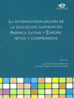 La internacionalización de la educación superior en América Latina y Europa