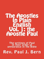 The Apostles In Plain English Vol. 1
