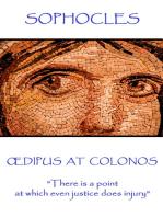 Œdipus At Colonos
