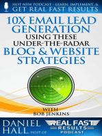 10x Email Lead Generation Using These Under-The-Radar Blog & Website Strategies